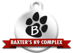 Baxter k9 dog boarding in St. Peters Mo